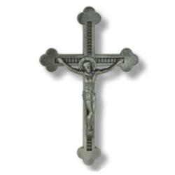 Σταυρός μνημείου από αλουμίνιο σε χρώμα ανθρακί 20x13