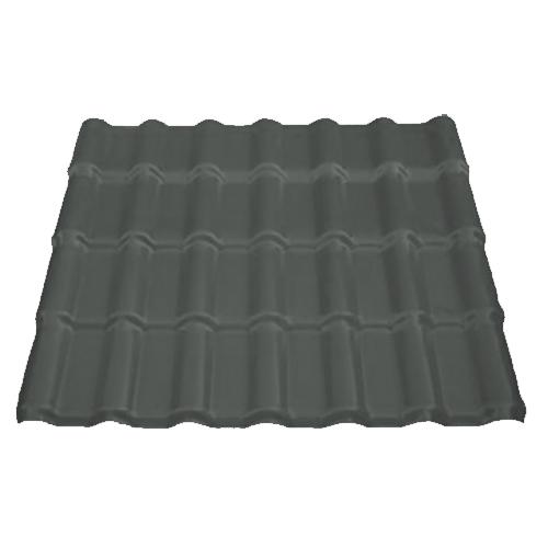 Πλαστικό φύλλο κεραμίδι ASA-PVC Γκρι