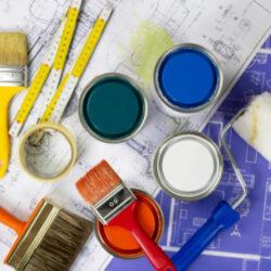Χρώματα - Δομικά υλικά