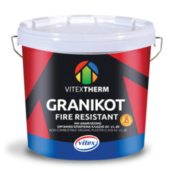 Μη αναφλέξιμος σοβάς Granikot Fire Resistant