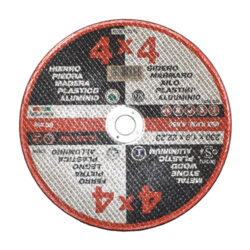 Δίσκος κοπής 4x4