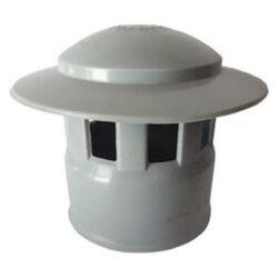 Καπέλο εξαερισμού PVC γκρι