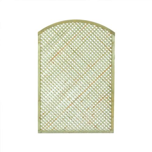 Καφασωτό διαμάντι αψίδα για περίφραξη 180x120