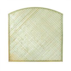 Καφασωτό διαμάντι αψίδα για περίφραξη 180x180