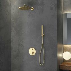 Στήλη μπάνιου Artemis Oro Spazzolato
