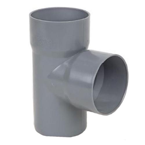 Ταφ 87,5° PVC γκρι
