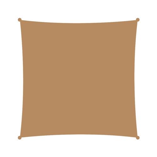 Τετράγωνο πανί σκίασης 3,6x3,6 άμμου
