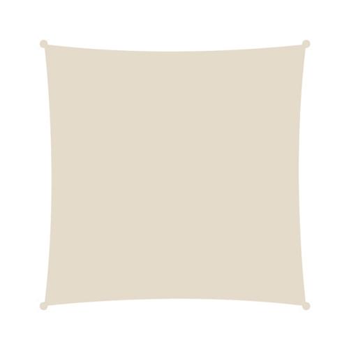 Τετράγωνο πανί σκίασης 3,6x3,6 εκρού