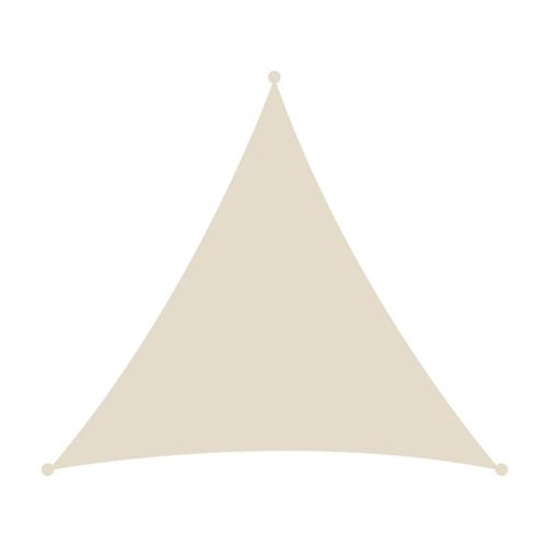 Τρίγωνο πανί σκίασης 3,6x3,6 εκρού