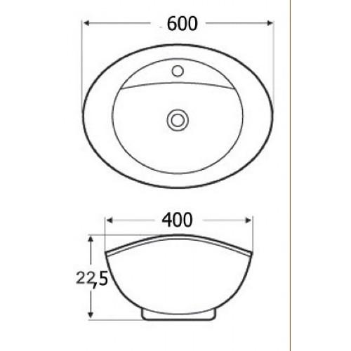 Νιπτήρας BEL-KAYAK 17-4840 CASA PRACTICA 1