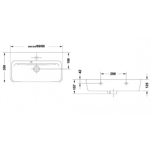 Νιπτήρας EMMA G2700501 CASA PRACTICA 1