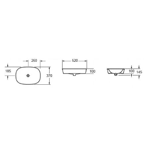 Νιπτήρας LW 10150 CASA PRACTICA 2