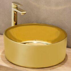 Νιπτήρας STYLE Χρυσό CASA PRACTICA